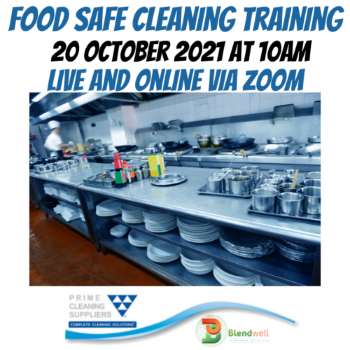 food safe cleaning training